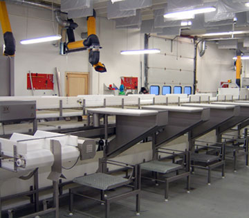 Fish processing plants, New Bedford MA, AC DC  motor replacement & repair, generators, pumps, conveyors, seals, exhaust fans